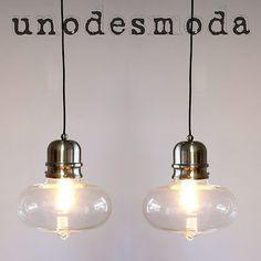2 X Modern Industrial Ceiling Funky Pendant Lights Lamps Retro Vintage PE082 2 | eBay