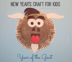 New Year's Craft for Kids: Year of the Goat