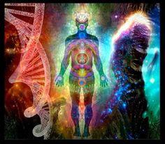 Nosso DNA está sendo ativado. Os raios cósmicos que estão vindo para o planeta,estão nos alinhandocom a nossa divindade. O DNA está evoluindo. Novos hélices ou filamentos estão sendo formadas para o nosso despertar.