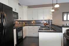 U-shaped kitchens can provide an abundance of storage, serving and cooking space