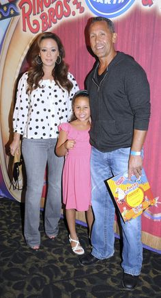 Leah Remini - Adrienne Maloof and Dr Paul Nassif at the Circus