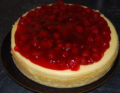 Cheesecake with Cake Mix - CDKitchen.com - Cheesecake with a twist! The crust is made from dry cake mix and it also uses cake mix in the cheesecake batter. Top with your choice of fruit pie filling flavor.