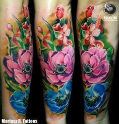 Amazing color tatto