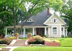 Interessant: Das repräsentative Bungalow-Haus ist mit billiger Dachpappe…