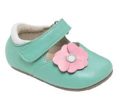 See Kai Run Smaller Baby Girl Mary Jane from seekairun.com - cool baby shoes, toddler shoes, kids shoes and baby booties.