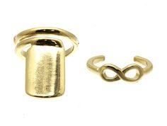 PWB3114 - Nail and infinity ring set