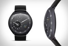 Modern mechanical watchmakers Ressence have presented their latest masterpiece, the first mechanical watch with a smart crown. Ressence Type 2 is the ultimate travel watch, you can use two time zones and switch between them by tapping the dial. Stylish Watches, Luxury Watches, Cool Watches, Watches For Men, Smartwatch, Popular Sneakers, New Sneakers, Fitbit, Photovoltaic Cells