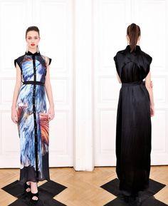 Kata Szegedi SS 2013 Fish Print, Prom Dresses, Formal Dresses, Runway, Spring Summer, Lifestyle, Model, Designers, Fashion