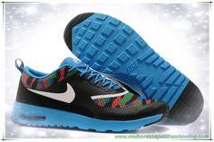 new style d0adf 4cc16 comprar tenis online 599408-014D Branco   Preto Moon   Verde   Azul    Amarelo Nike Air Max Thea Print Masculino