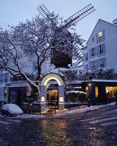 Moulin de la Galette, Montmartre