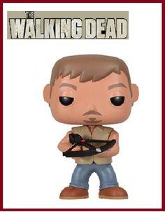 "Funko Pop Television - AMC The Walking Dead - Daryl Dixon zombies 3.75"" figure #FUNKO"