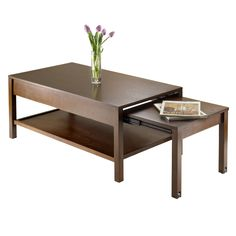 94856- Brandon Expandable Coffee Table, Living Room Furniture   Walmart Canada Online Shopping $229