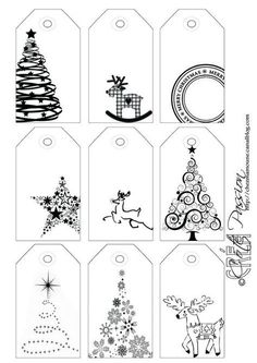 Côté Passion 9 tag BW Christmas is artistic inspiration for us. Get extra photograph about Residence Decor and DIY & Crafts associated with by taking a look at photographs gallery on the backside of this web page. We're need to say thanks in the event you Christmas Labels, Noel Christmas, Christmas Printables, Winter Christmas, All Things Christmas, Christmas Gift Tags Printable, Printable Tags, Christmas Inspiration, Holiday Crafts
