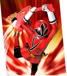 Kaoru Shiba / Princess Shinken Red (Samurai Sentai Shinkenger) Lauren / Red Ranger (Power Rangers Samurai)