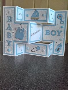 Baby Boy card | docrafts.com