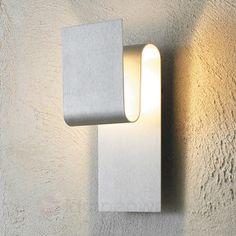 Indirekt leuchtende LED-Wandleuchte Fold aluminium