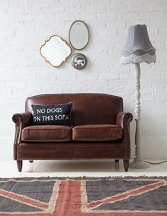 If you love vintage leather but only have a small space to fill then check out the stunning little brother of our Vintage Leather Furniture Collection.