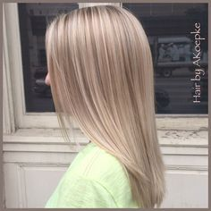 Healthy blonde hair is beautiful blonde hair.