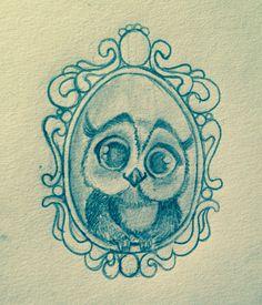Disegno matita su carta per tatuaggio