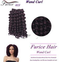 Jumpy Wand Curl Crochet Braids Freetress Hair