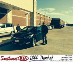 #HappyBirthday to Jason Mcgee from Gary Guyette Jr at Southwest KIA Rockwall!