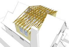 Dormer the attic with completely new roof trusses.  Trusses would need mirror image shed dormers on either side, and roof ridge would likely be higher than the current roof ridge line.
