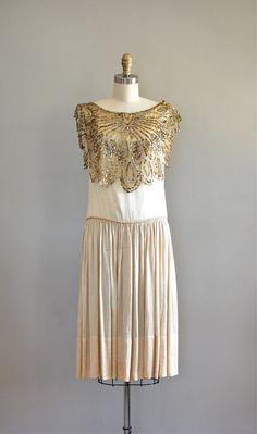 silk 20s dress / 1920s dress / Gypsy Moth dress