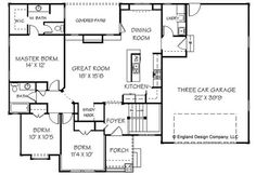 Small House Floor Plans | House plans South Africa, House design, Design plans, Plan drawing