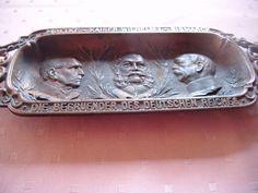 Kaiser Wilhelm - Bismarck - Moltke  ALTE GRIFFELSCHALE AUS BRONZE in Antiquitäten & Kunst, Metallobjekte, Bronze | eBay!