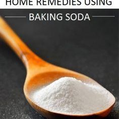 Effective Home Remedies using Baking soda