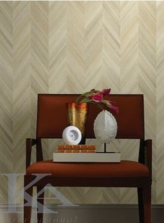 York Wallcoverings Ashford Geometrics Gradient Chevron Wallpaper Variations Of Browns - The Savvy Decorator Modern Wallpaper Designs, Contemporary Wallpaper, Designer Wallpaper, Chevron Wallpaper, Home Wallpaper, Amazing Wallpaper, Wallpaper Ideas, Ashford House, Small Space Design