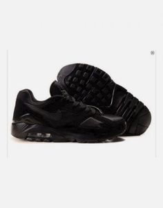 check out 37190 2bbe8 Danmark Billige Nike Air Max 180 Trainers Mænd - All Black