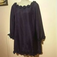 French Connection. 100% silk dress check pictures Preowned,vary good condition stunning dress,purple color French Connection Dresses