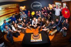 Foto de familia de nuestro 15 Aniversario #AurigaCoolMarketing #Eventos #Marketing @Auriga Cool Mkt Facebook: AurigaCoolMarketing