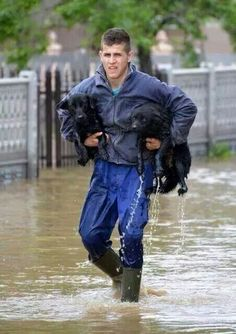 Serbia May 2014 floods (the worst natural catastrophe that has ever hits Serbia)