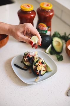 Avocado Keto Taco Bowls recipe featured by top Florida lifestyle blog, Fresh Mommy Blog: Easy Entertaining with Pace Chunky Salsa and Make-Your-Own Avo Taco Bowls