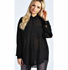 boohoo Molly Oversized Button Through Shirt - black Super size your style in this oversized shirt - a slouchy wardrobe staple. Well be pairing it with PU trousers , a bejewelled necklace and classy court heels . http://www.comparestoreprices.co.uk/womens-clothes/boohoo-molly-oversized-button-through-shirt--black.asp
