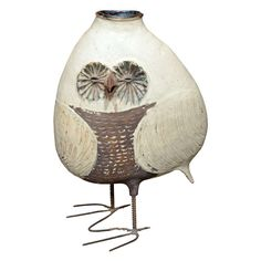 Owl Vase, anonymous?