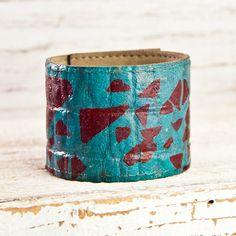 Geometric Jewelry Bohemian Bracelet by rainwheel, $44.00