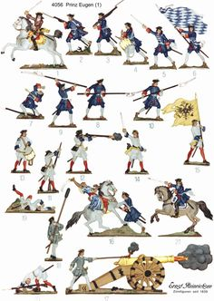 Изображение Military Art, Military History, Military Uniforms, Seven Years' War, Army Men, Toy Soldiers, Secret Life, Warfare, Troops