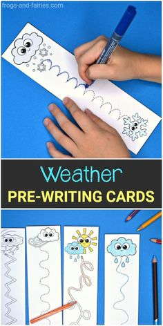 Fun pre-writing practice! These Weather theme Pre-Writing Tracing Cards will add excitement and fun to practicing! This printable activity will help your preschool and kindergarten kids to… More
