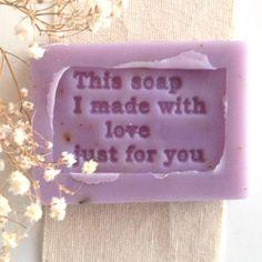Easy DIY lavender soaps