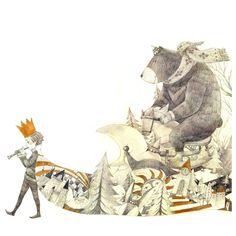 Beautiful illustrations by Mae Besom.