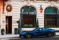 Ferrari F12 Blue