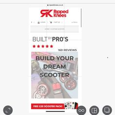 We've updated our builder page so take a look and get building your CUSTOM SCOOTER. 👌😮 10% OFF and a 🌈 FREE £20 Scoot Pack with all customs #customscooter #customscooters #scooterbuilder #scoot #scoots #scooter #scooters #stuntscooter #stuntscooters #scootscoot #scootlife #scoot4life #scootering #skatepark #proscooter #proscooters #kickscooter #kickscootershop #scootershop #skateshop #skate4life