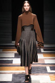 Salvatore Ferragamo Fall 2015 Ready-to-Wear Fashion Show - Julia Bergshoeff