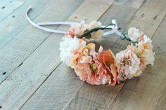 Bebé flor corona corona de flor Boho corona de por LittleUrbanGem