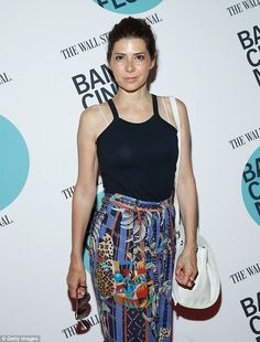Marisa Tomei is fresh-faced at New York film premiere | Daily Mail Online