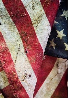 American Flag / Texture Inspiration
