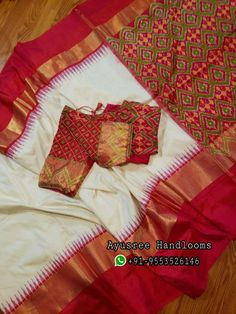 Pure silk sarees direct sell from weavers.